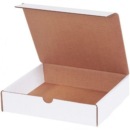 "Literature Mailers, White, 9 x 8 x 2"""