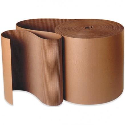 "Corrugated Wrap Roll, 72"" X 250', A Flute"