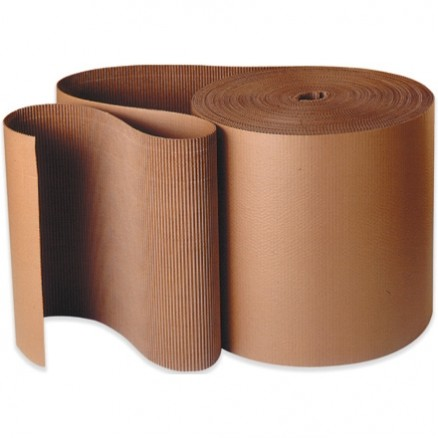 "Corrugated Wrap Roll, 4"" X 250', A Flute"