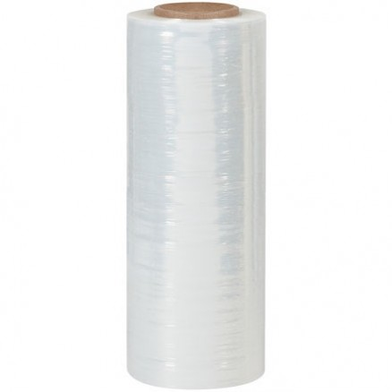 "Blown Hand Stretch Film, 120 Gauge, 15"" x 1000"