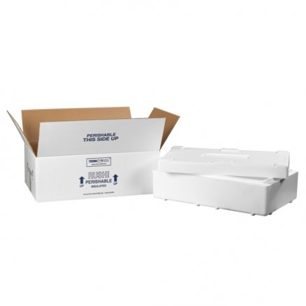 """Insulated Shipping Kits, 19 1/2 x 11 1/2 x 7 1/8"""""""