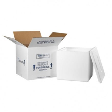 """Insulated Shipping Kits, 13 x 13 x 15 1/2"""""""