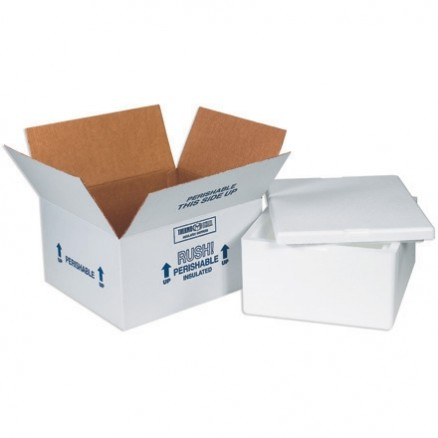 Insulated Shipping Kits, 12 x 10 x 8""