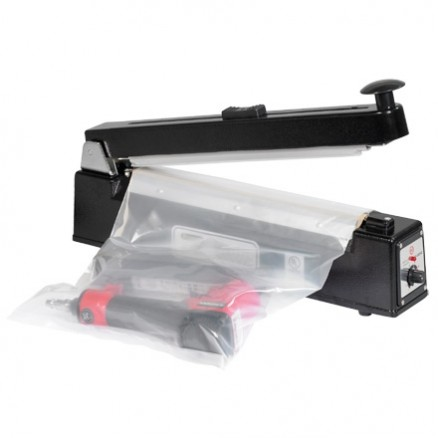 Impulse Sealer with Cutter - 12""