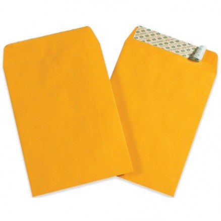 Self-Seal Envelopes, Kraft, 10 x 13""