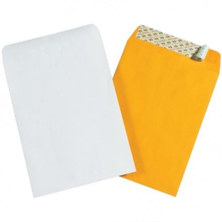 "Self-Seal Envelopes, Kraft, 6 x 9"""