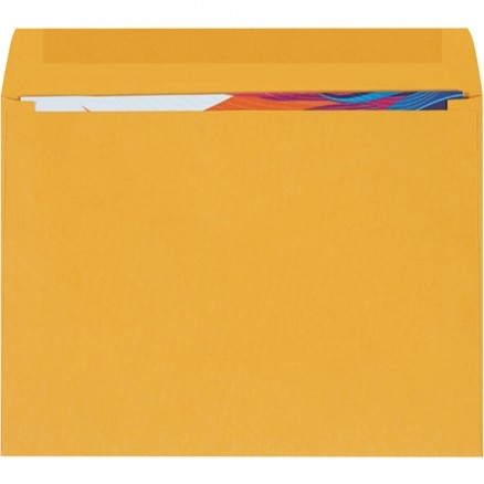 Booklet Gummed Envelopes, Kraft, 12 x 9""