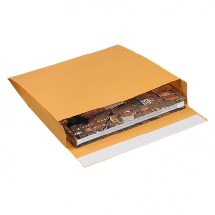 Expandable Self-Seal Envelopes, Kraft, 10 x 15 x 2""