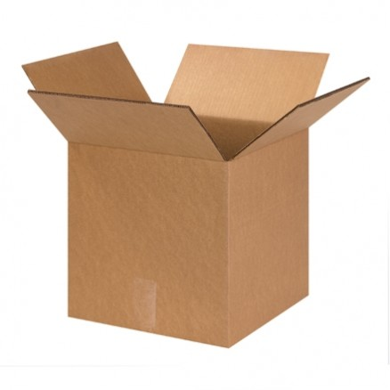 """Corrugated Boxes, 12 x 12 x 12"""", Double Wall, Cube"""