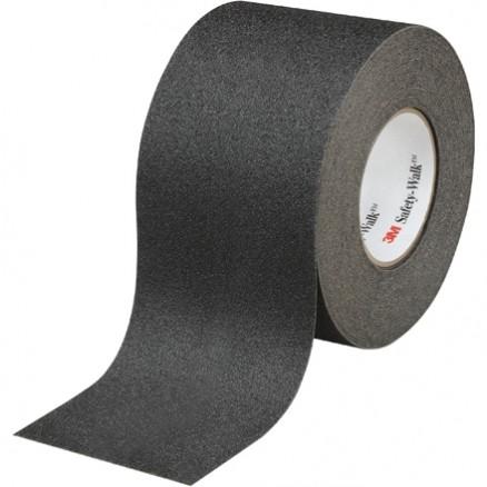 "Black 3M 610 Safety-Walk™ Tape, 4"" x 60 yds."