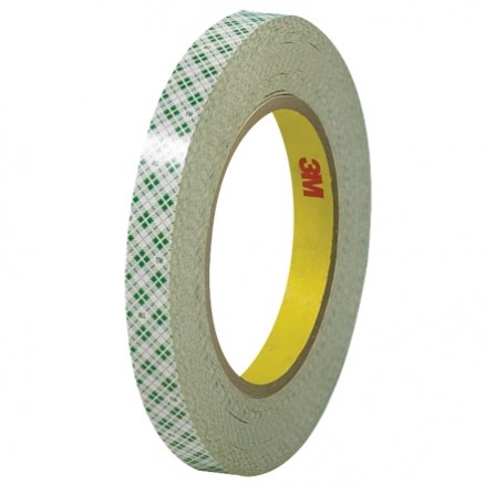 """3M 410M Double Sided Masking Tape, 1/2"""" x 36 yds., 6 Mil Thick"""