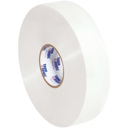 "White Machine Carton Sealing Tape, Economy, 2"" x 1000 yds., 1.9 Mil Thick"