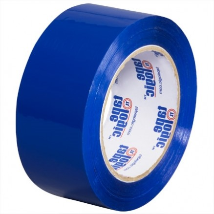"Blue Carton Sealing Tape, 2"" x 110 yds., 2.2 Mil Thick"