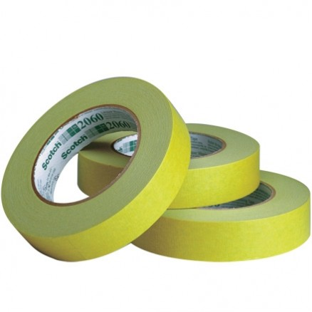 "3M 2060 Green Painter's Tape, 3/4"" x 60 yds., 6 Mil Thick"