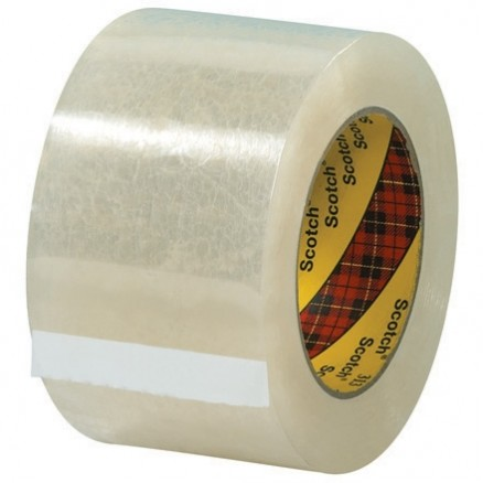 "3M 313 Tape, Clear, 3"" x 110 yds., 2.5 Mil Thick"