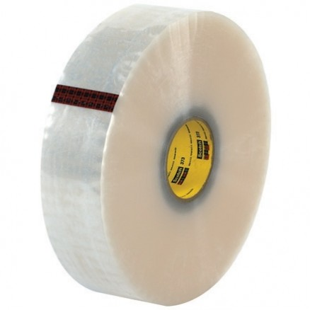 "Clear Machine Carton Sealing Tape,, 3"" x 1000 yds., 2.5 Mil Thick"