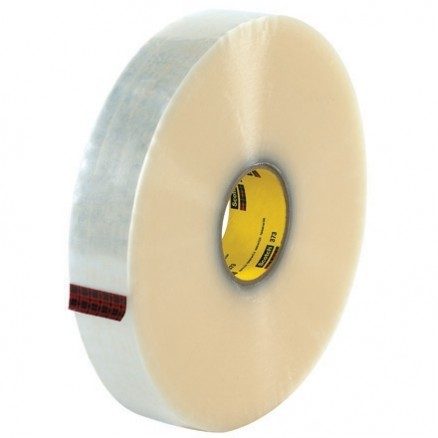 "Clear Machine Carton Sealing Tape,, 2"" x 1000 yds., 2.5 Mil Thick"