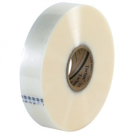 "Clear Machine Carton Sealing Tape,, 2"" x 1000 yds., 1.6 Mil Thick"