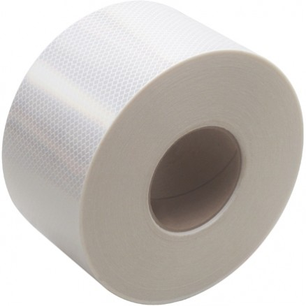 "3M 983 White Reflective Tape, 4"" x 150"
