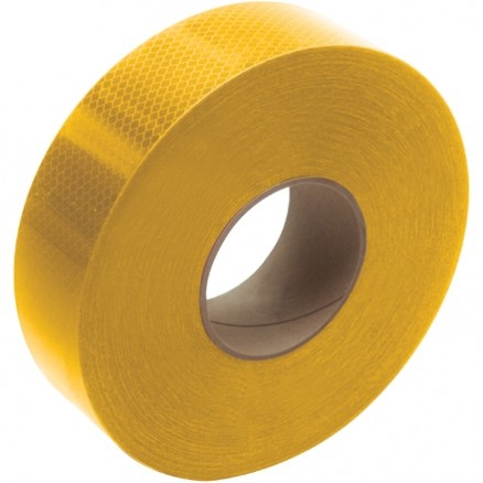 "3M 983 Yellow Reflective Tape, 2"" x 150"