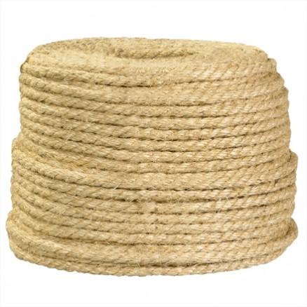 """Sisal Rope - 1/4"""", Sisal"""