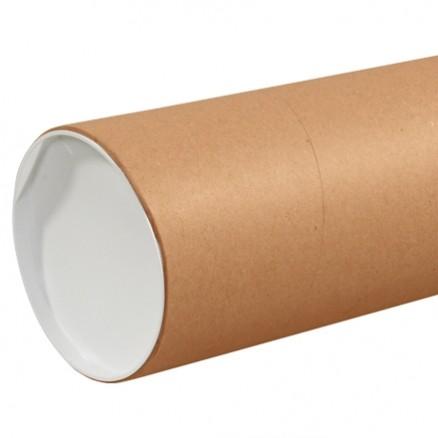 """Mailing Tubes, Jumbo, Round, Kraft, 6 x 48"""""""