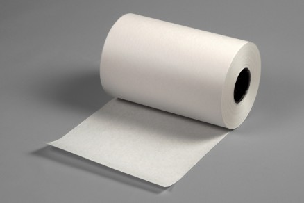 """White 35/40# Poly Coated Freezer Paper Roll, 12"""" x 1100"""