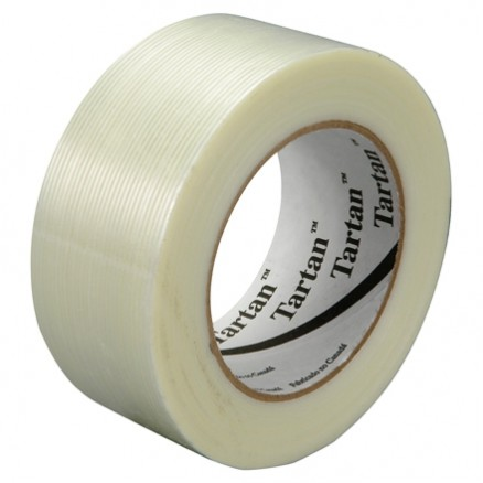 "3M 8934 Clear Strapping Tape, 2"" x 60 yds., 4.0 Mil Thick"