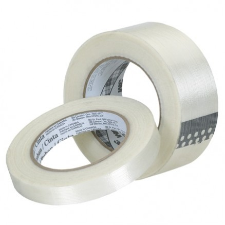"3M 8932 Clear Strapping Tape, 2"" x 60 yds., 3.75 Mil Thick"