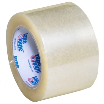 "Clear Carton Sealing Tape, Industrial, 3"" x 110 yds., 2 Mil Thick"