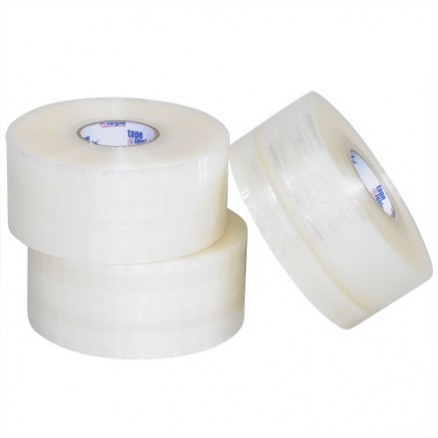 "Clear Carton Sealing Tape, Industrial, 2"" x 220 yds., 2 Mil Thick"