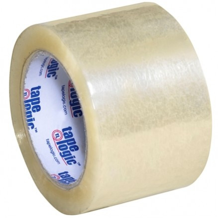 "Clear Carton Sealing Tape, Industrial, 3"" x 110 yds., 1.8 Mil Thick"