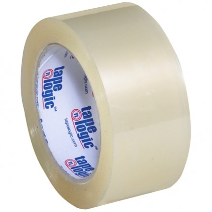 "Clear Carton Sealing Tape, Industrial, 2"" x 110 yds., 1.8 Mil Thick"