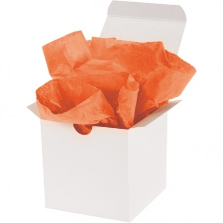Orange Tissue Paper Sheets, 20 X 30""