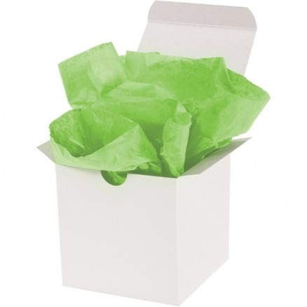 Citrus Green Tissue Paper Sheets, 15 X 20""