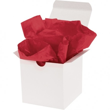 Scarlet Tissue Paper Sheets, 15 X 20""