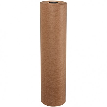 "Waxed Kraft Paper Rolls, 36"" Wide - 30 lb."