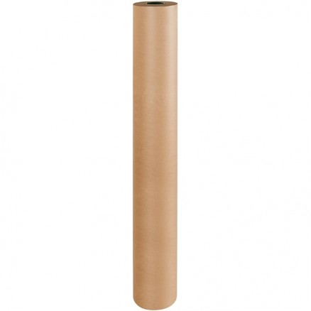 "Poly Coated Kraft Paper Rolls, 60"" Wide - 50 lb."