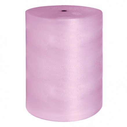 "Bubble Rolls, Anti-Static, Large, 1/2"" X 48"" X 250', Non-Perforated"