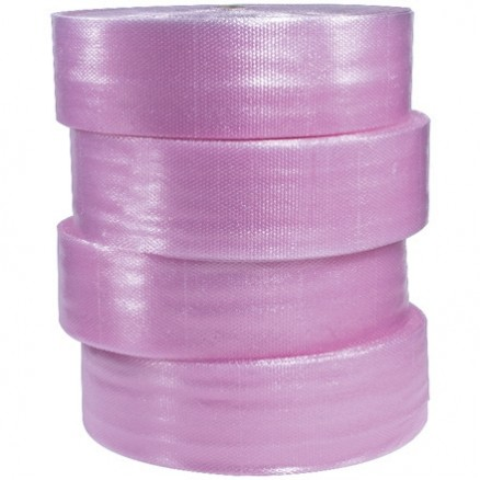 "Bubble Rolls, Anti-Static, Large, 1/2"" X 12"" X 250', Non-Perforated"