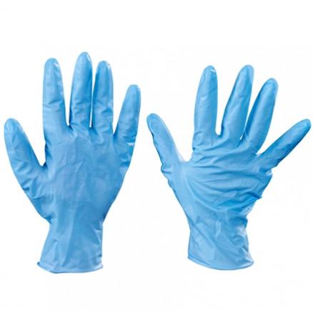 Blue Nitrile Gloves - 8 Mil - Medium