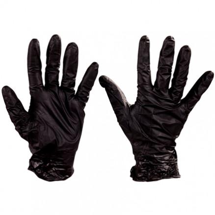 Best® Nighthawk™ Black Nitrile Gloves - 6 Mil - Large