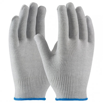 ESD Nylon Gloves - Uncoated, Medium