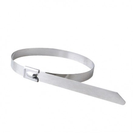 """Cable Ties, Stainless Steel - 8"""", 150#"""