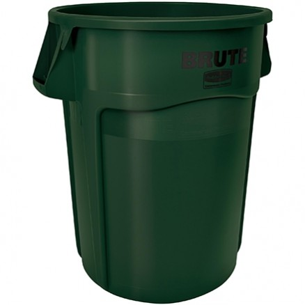 Rubbermaid® Brute® Recycling Container - 44 Gallon, Green