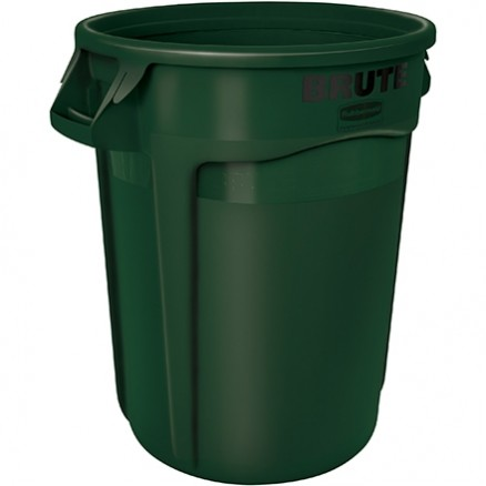 Rubbermaid® Brute® Recycling Container - 32 Gallon, Green