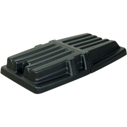 Rubbermaid® Domed Tilt Truck Lid - 1 1/2 Cubic Yard