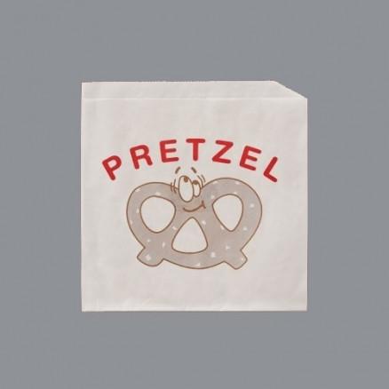 """Printed Pretzel Bags, 6 3/4 x 7"""""""