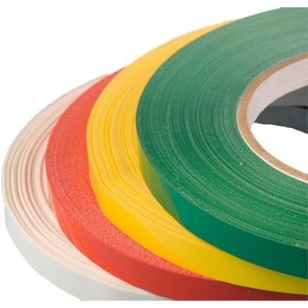 """Bag Sealing Tape, Red, 3/8"""" x 180 yds."""