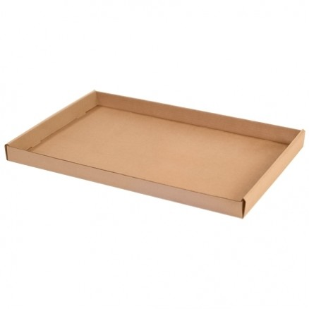 Corrugated Trays, Kraft, 24 X 15 X 1 3/4""